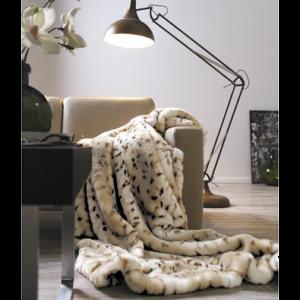 Luxusní kožešinová deka