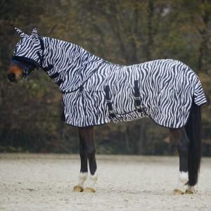 sítovana deka na koně